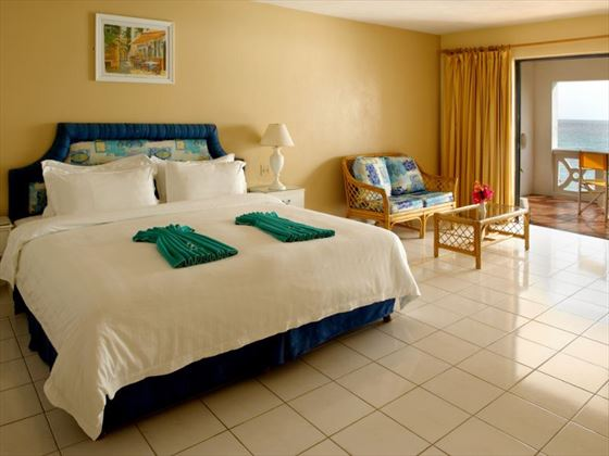 Typical room at Discovery Bay