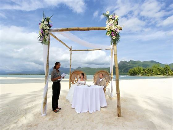 Beautiful beach wedding at Paradis Hotel & Golf Club