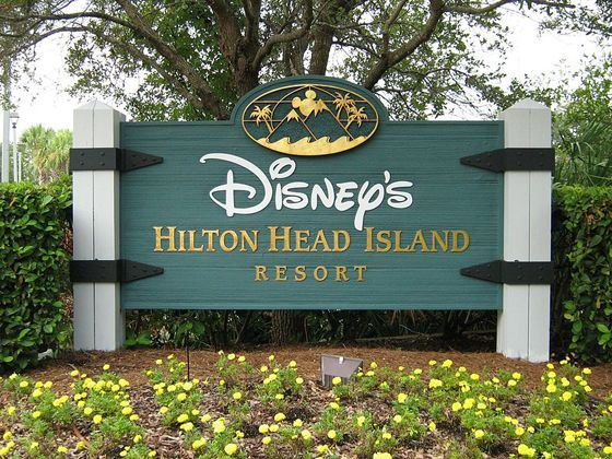 Disney's Hilton Head Island Resort Welcome Sign