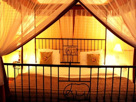 Double Bedroom at Mount Meru Game Lodge