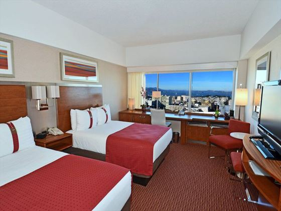 Double Guest Room at Holiday Inn Golden Gateway