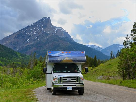 Driving through Alberta