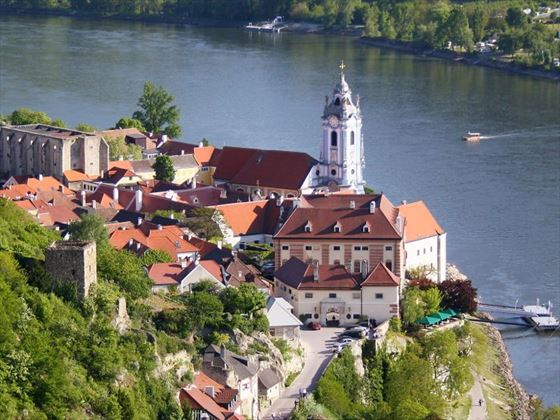 Durstein on the River Danube