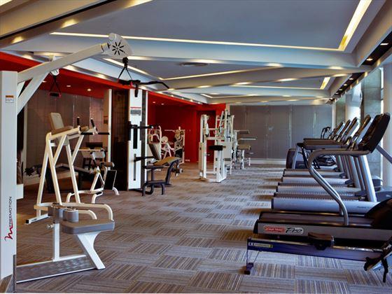 Dusit Thani Bangkok gym