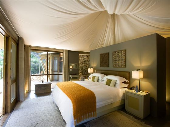 Dykwa Tented Lodge bedroom