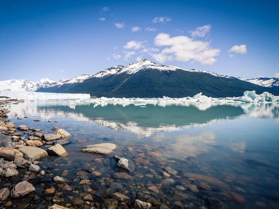 El Calafate lake in Argentina