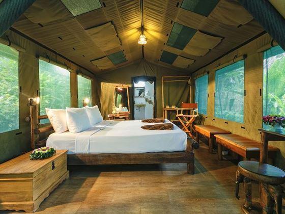 Elephant Hills - The Elephant Camp Luxury Tent