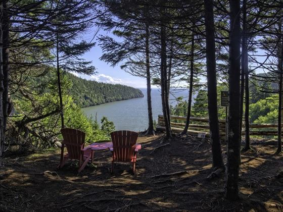 Enjoy the views at Fundy National Park