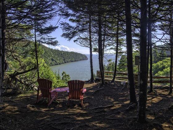 Enjoy the views at Fundy National Park