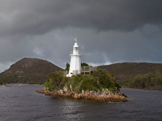 Entrance to Macquarie Harbour through Hell's Gate