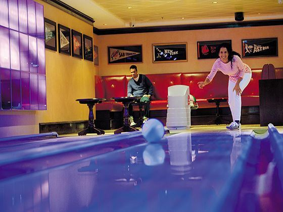Norwegian Epic Bowling