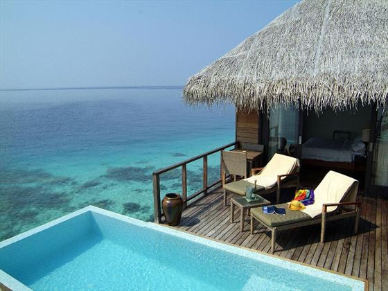 Escape Water Villa at Coco Bodu Hithi