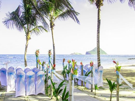 Upgrade to the Luxury wedding for the Eternity Beach setting