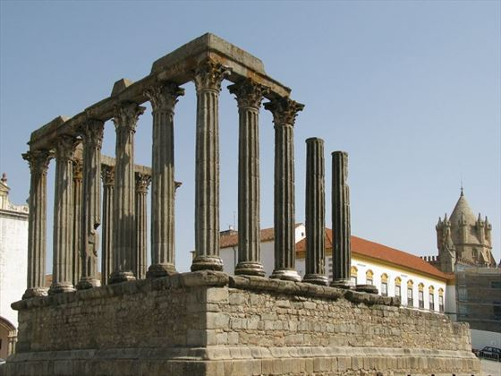 The Roman Temple at Evora