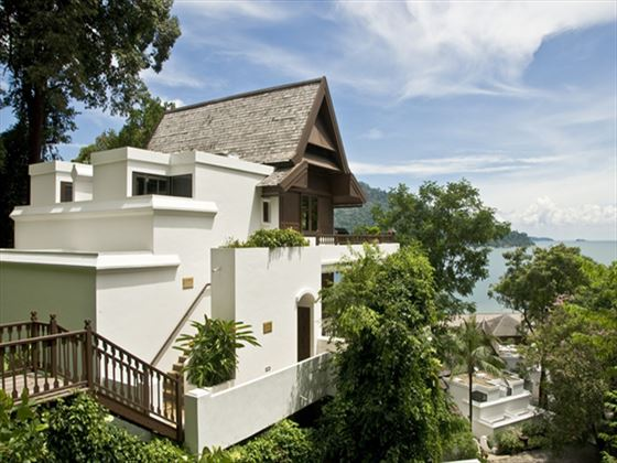 Exterior view of a Hill Villa at Pangkor Laut Resort