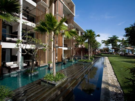 Exterior view of Anantara Seminyak pool suites
