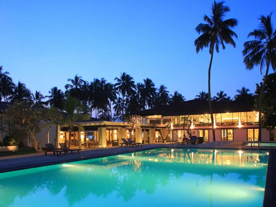 Exterior view of AVANI Kalutara at night