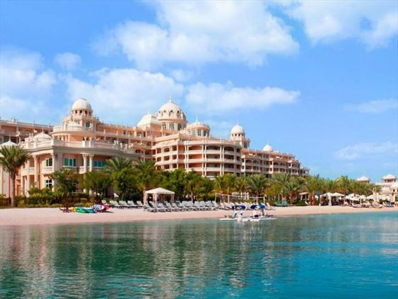 Exterior view of Kempinski Hotel & Residence Palm Jumeirah