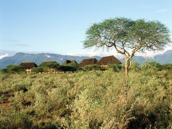 Exterior view of Ngutuni Safari Lodge
