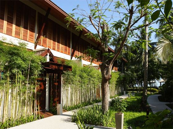 Exterior view of Deluxe Terrace Room at Peace Resort Samui