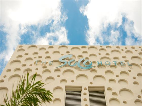 Exterior view of The SoCo Hotel