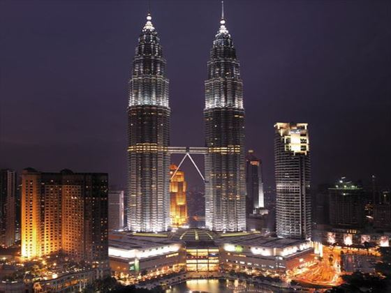 Exterior view of Traders Hotel Kuala Lumpur