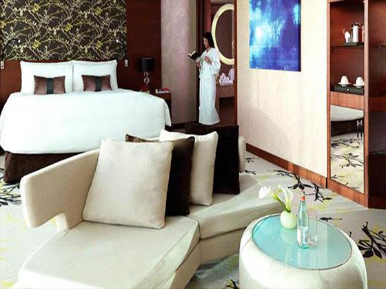Fairmont Bab Al Bahar Deluxe King View Room