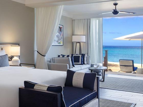 Fairmont Royal Pavilion, Beachfront Suite