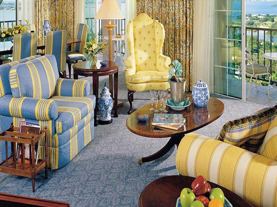 Fairmont Southampton Penthouse Suite living area