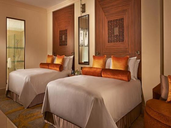 Fairmont The Palm Twin bedroom