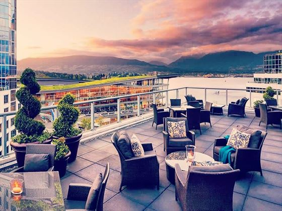 Gold Terrace at Fairmont Waterfront