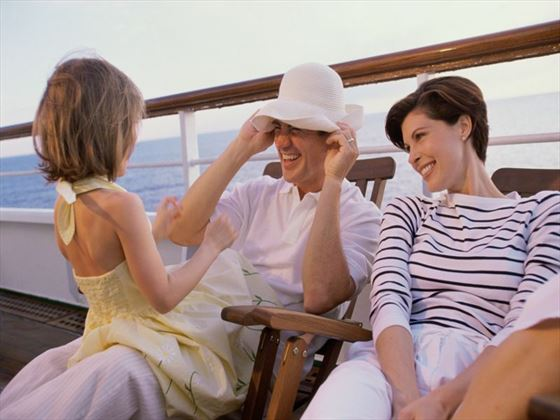 Take a cruise holiday with your loved ones for great sights and experiences