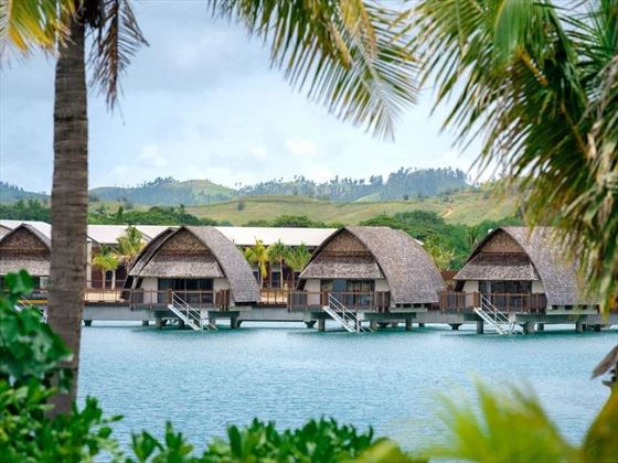 Fiji Marriott Resort Momi Bay Overwater Bures