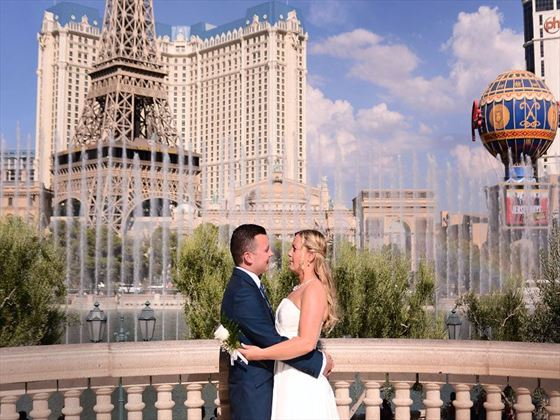 Fiona and Graham in Vegas!