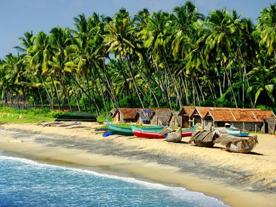 Fishing village in Goa