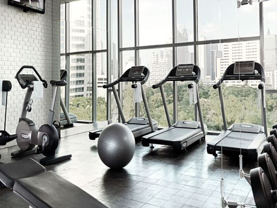 Fitness centre at Oriental Residence