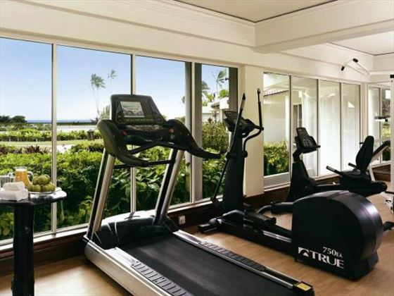 Fitness facilities at Vivanta by Taj