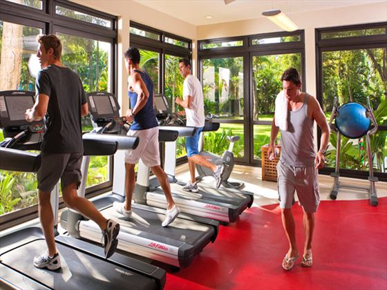 Fitness room at Beaches Negril Resort and Spa