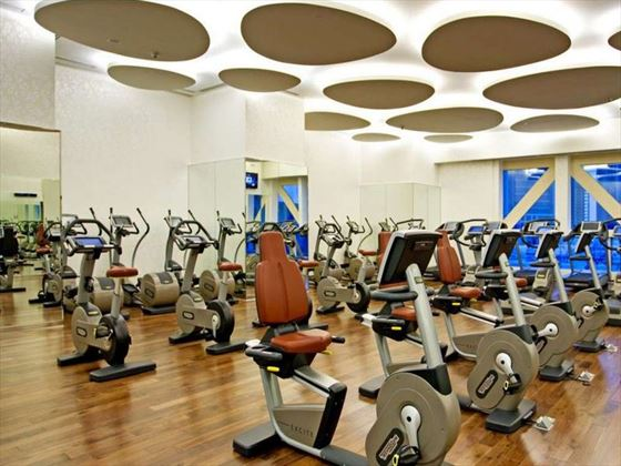 Kempinski Residence & Suite Doha fitness room