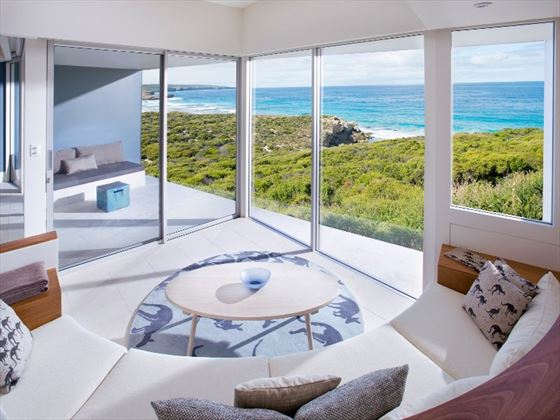 Flinders Suite at Southern Ocean Lodge