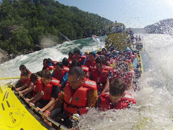 Niagara River Jet Boat Tour