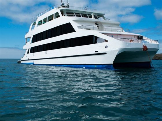 Cruise the Galapagos on board the Queen