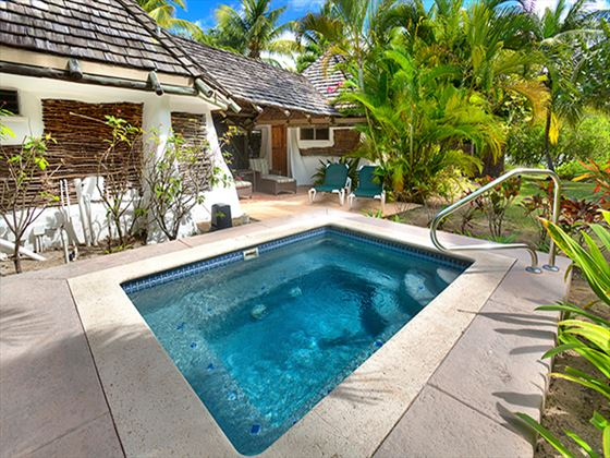 Galley Bay Resort & Spa Gauguin Cottage private pool