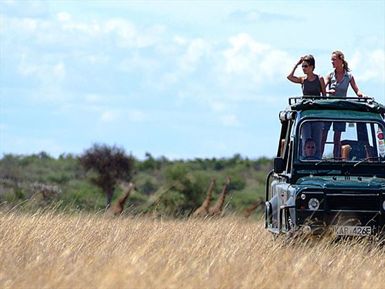 Game drives at Mara Porini