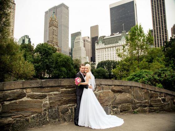 Weddings on Gapstow Bridge, Central Park