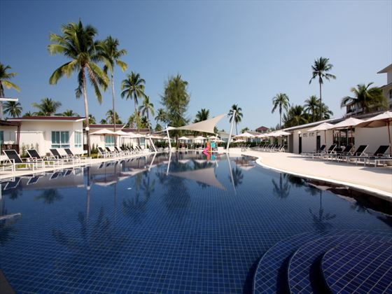 Garden pool at Kantary Beach