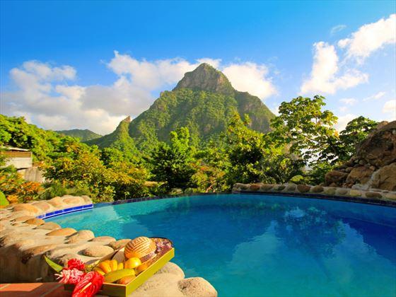 Garden Villa pool at Stonefield Estate Villa Resort