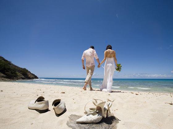 Galley Bay wedding