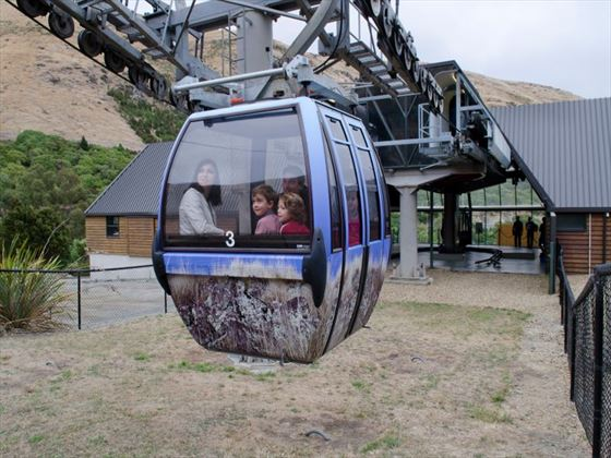 See Christchurch from a new perspective with a gondola ride