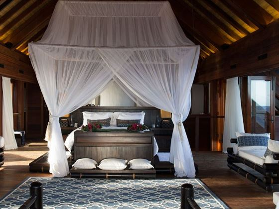 Great House bedroom at Necker Island